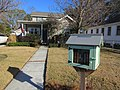 Old Jefferson Jefferson Parish Louisiana Jan 2018 Claibrne Court Little Free Library Walkway.jpg