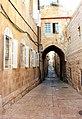 Old Jerusalem Jewish Quarter Habad street arche.jpg