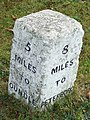 Old Milestone - geograph.org.uk - 1537224.jpg