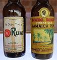 Old Rum bottles, 2014.jpg