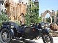 Old motorcycle at The Fairy Castle in Ravadinovo (9902823955).jpg