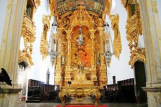 Olinda - Main altar of Saint Benedict Church.
