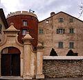 Olmeta-di-Tuda entrée du château de Tuda.jpg