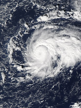 Subtropical cyclone - A subtropical storm in December 2010, originally a Kona storm