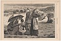 On the Beach at Long Branch – The Children's Hour – Drawn by Winslow Homer (Harper's Weekly, Vol. XVIII) MET DP860206.jpg