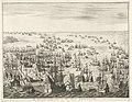 Ondergang van de Spaanse Armada, 1588 De Spaansche oorlogsvloot van den Jaere MDLXXXVIII (titel op object), RP-P-1896-A-19368-64.jpg