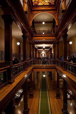 Ontario Legislative Building - Interior of the building's east wing