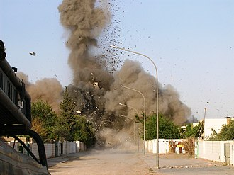 2005 in Iraq - A large weapons cache New Ubaydi is destroyed, May 2005