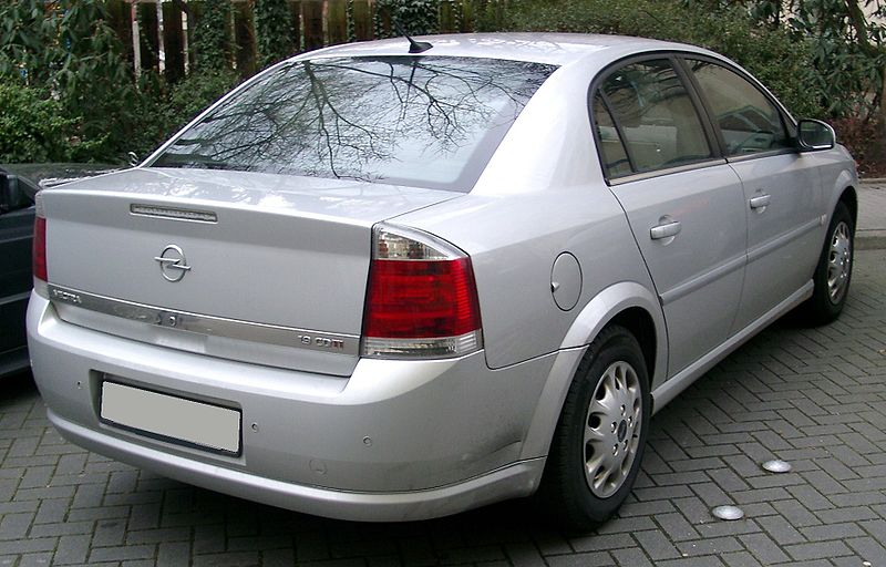 File opel vectra rear wikimedia commons for Opel vectra c salonas