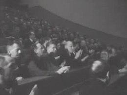 Bioscoopjournaal uit 1951. Opening van twee proeffabrieken aan de TH Delft, een voor fysische en een voor chemische technologie.