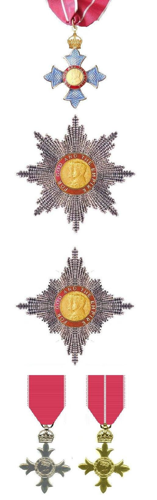 Order of the British Empire Insignia modern