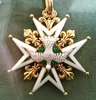 Order of the Holy Spirit - Badge of the Order