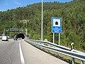 Ordovician Tunnel of El Fabar (A-8), Ribadesella, Asturias, Spain 01.jpg