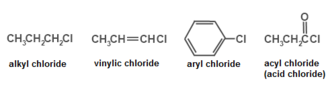 Halocarbon - Examples of organohalogens-chlorides