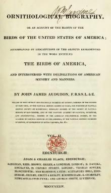 Ornithological biography, or an account of the habits of the birds of the United States of America, vol 2.djvu