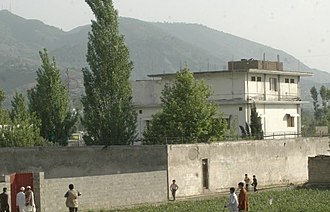 Al-Qaeda - View of Osama bin Laden's compound in Abbottabad, Pakistan, where he was killed on May 1, 2011.