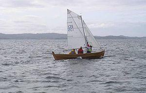 Oselvar - Oselvar with sail