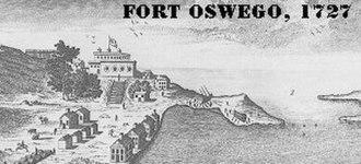 Fort Oswego - Image: Oswego Fort 1727