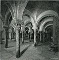 Otranto Cripta o chiesa sotterranea della cattedrale xilografia di Richard Brend'amour.jpg