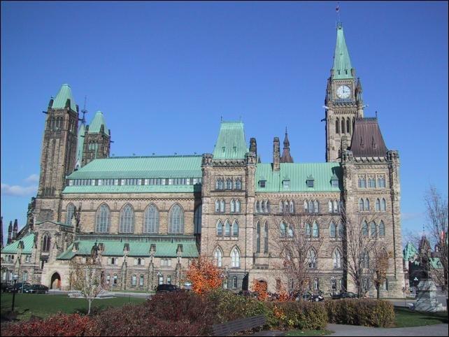 Ottawa-parlement