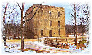 Cannon River (Minnesota) - Oxford Mill, Cannon Falls.