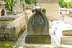 Tomb of Dufrène and Gevrey