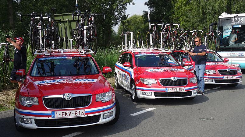 Péronnes-lez-Antoing (Antoing) - Tour de Wallonie, étape 2, 27 juillet 2014, départ (B40).JPG