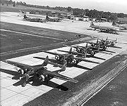 P-61 squadron bw
