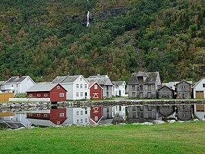 Lærdalsøyri - View of Lærdalsøyri