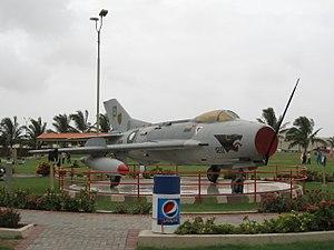 PAF Museum, Karachi - Shenyang F-6 Aircraft