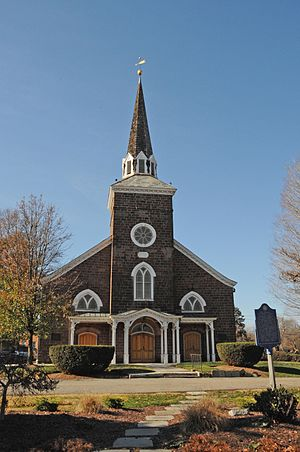 Paramus Reformed Church Historic District - Paramus Reformed Church in 2015