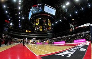Ergo Arena - Image: PLK Trefl Stelmet Ergo Arena