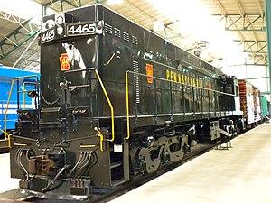 Pennsylvania Railroad class E44 - Image: PRR 4465 Brick