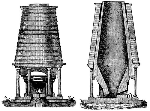 PSM V38 D478 An early french coke blast furnace.jpg