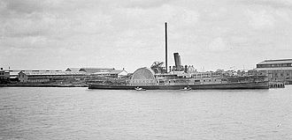 A. & J. Inglis - PS Hankow was built for the China Navigation Company in 1874