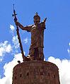 Pachacuti statue, Cuzco.jpg