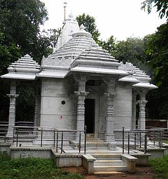 Padmaprabha - Image: Padmaprabha Temple, Madhuban