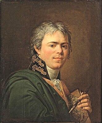 Andrey Ivanovich Ivanov - Self-portrait (c.1800)