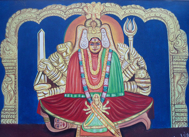 File:Painting of Godess Bhadrakali.jpg