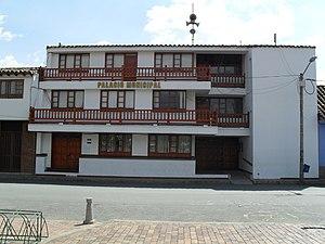 Simijaca - Image: Palacio Municipal Simijaca