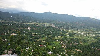 Panchkhal - Panchkhal Municipality view with its capital and fertile fields