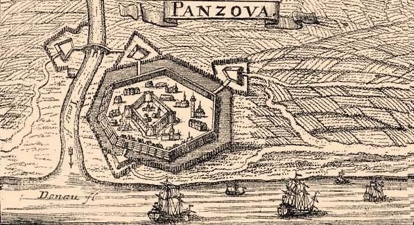 Pancsova vára-1718