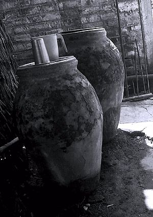 Matki (earthen pot) - Image: Pani ka matka