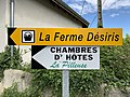Panneaux Direction Ferme Désiris Chambres Hôtes Pilleuse Route Loëze St Cyr Menthon 2.jpg
