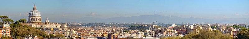 Panorama of Rome view from Via San Lucio.jpg