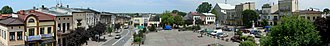 Wolbrom - Panorama of town square