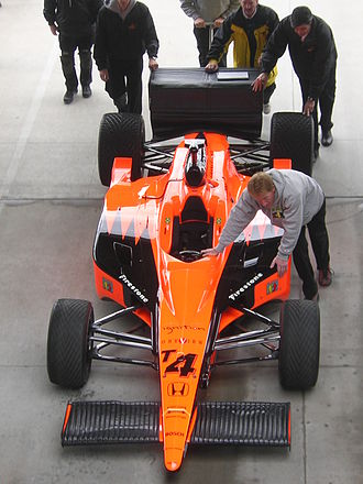 Panther Racing - Panther's 2006 car driven by Vitor Meira