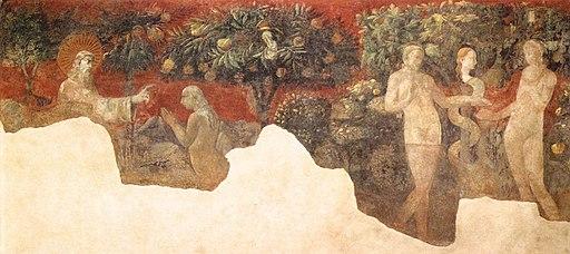 Paolo uccello, creazione di eva e peccato originale