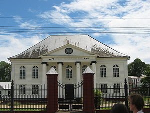 פרמריבו: Paramaribo synogogue