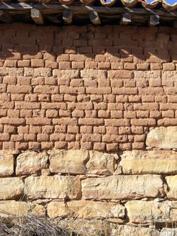 Adobe wikipedia la enciclopedia libre - Construccion casa de piedra precio ...